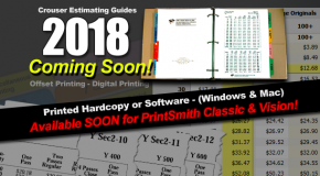 2018 Pricing Guides – Coming Soon!