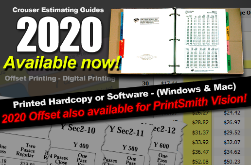 2020 Pricing Guides available